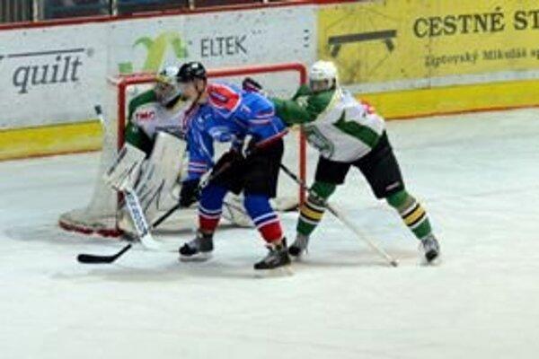Prievidzskí hokejisti podľahli v zdecimovanej zostave Trebišovu.