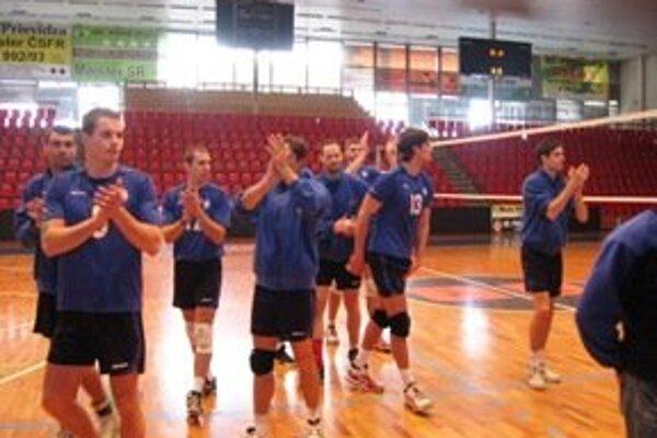 Volejbalisti Prievidze si zaistili účasť v baráži o extraligu.