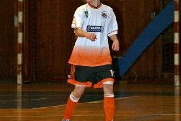 Dominik Mokrý (FSC Prievidza) obliekol reprezentačný dres.