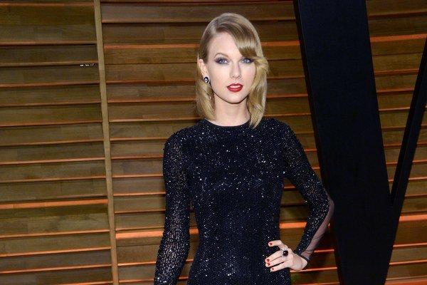 Americká speváčka Taylor Swift obsadila prvé miesto.