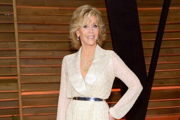 Jane Fonda tento rok v decembri oslávi 76 rokov.