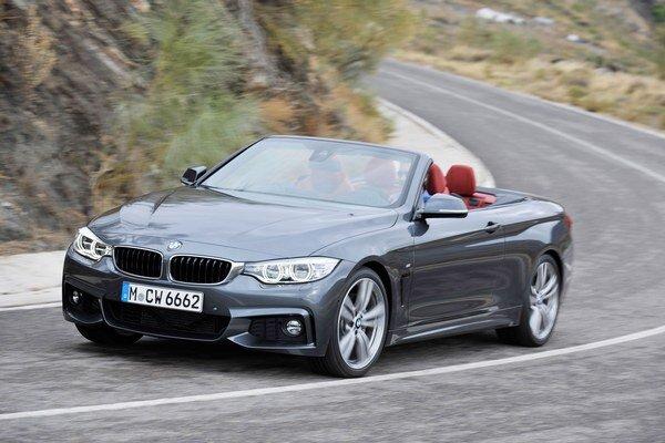 """Kabriolet BMW radu 4. Kabriolet je po kupé, s ktorým je technicky zhodný, druhým členom nového """"štvorkového"""" radu BMW."""