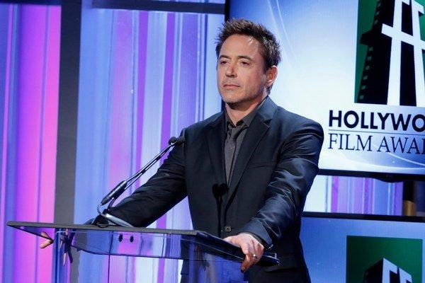 Robert Downey Jr. bol narodeninovým prekvapením na oslave.