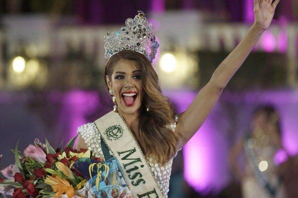 Miss Earth je Venezuelčanka.