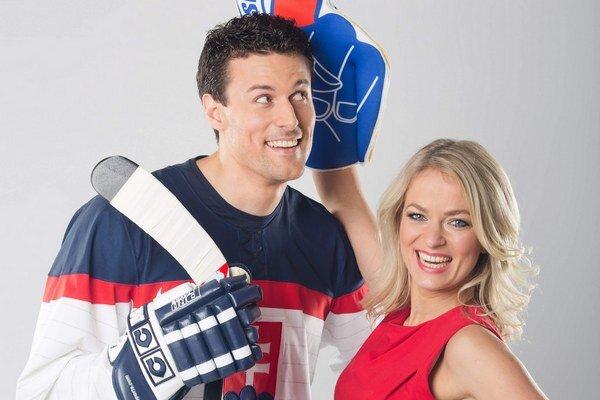 Naladení na olympiádu. Jana sa už teší na atmosféru pri hokejových zápasoch.
