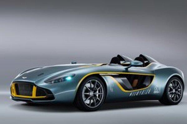 Štúdia Aston Martin CC100 Speedster. Štúdia bola navrhnutá a postavená pri príležitosti 100. výročia založenia firmy Aston Martin.