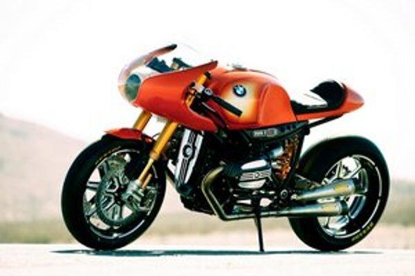 Koncepčný motocykel BMW Concept Ninety. Motocykel vyvinula firma BMW pri príležitosti 90. výročia začatia výroby motocyklov.