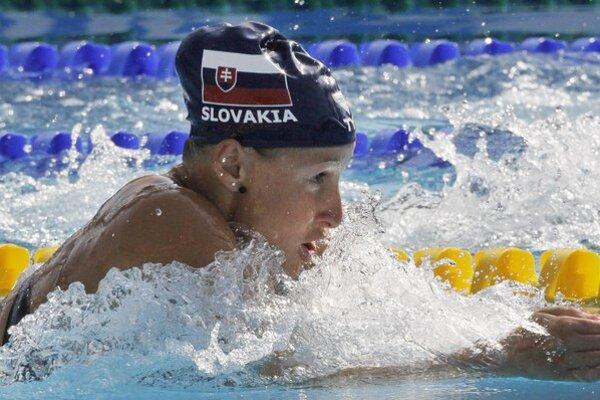 Zuzana Mimovičová. Má za sebou premiéru na seniorských majstrovstvách sveta.