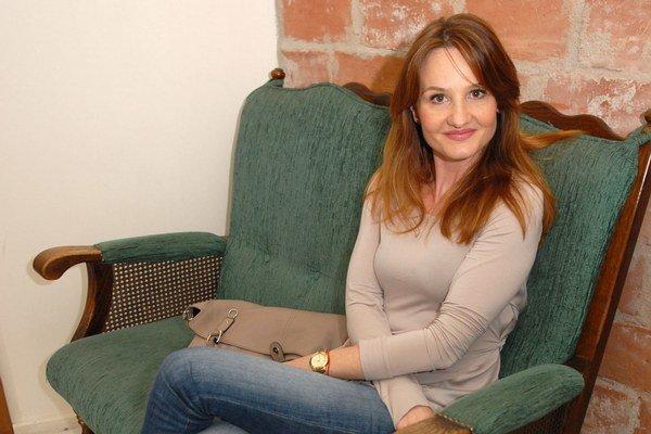 Herečka Andrea Karnasová.