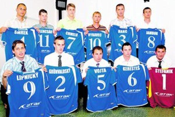 Dnes spoznáme nových laureátov. Na snímke Jedenástka sezóny 2010/2011.