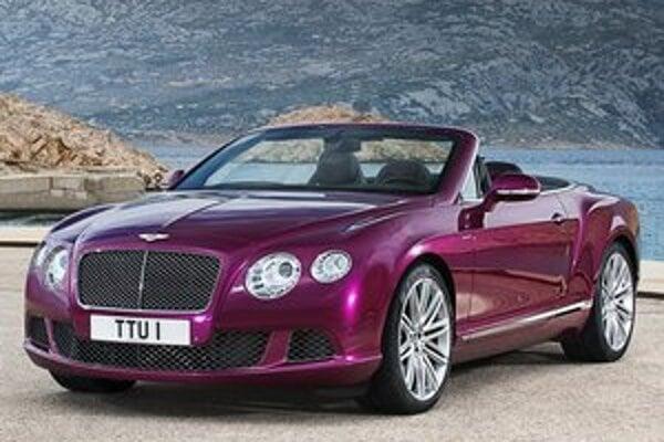 Bentley Continental GT Speed Convertible. Podtext: Kabriolet bude mať svetovú premiéru v pondelok na medzinárodnom autosalóne v Detroite.