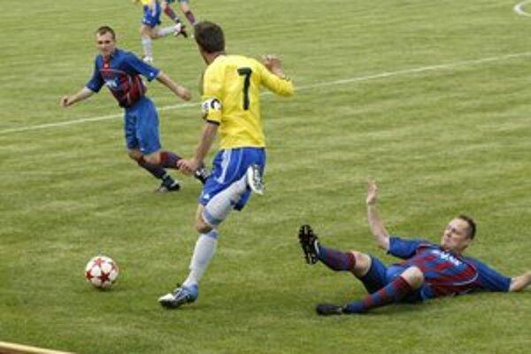 Milan Jambor. Hrajúci tréner Svitu sa tiež naposledy strelecky presadil.