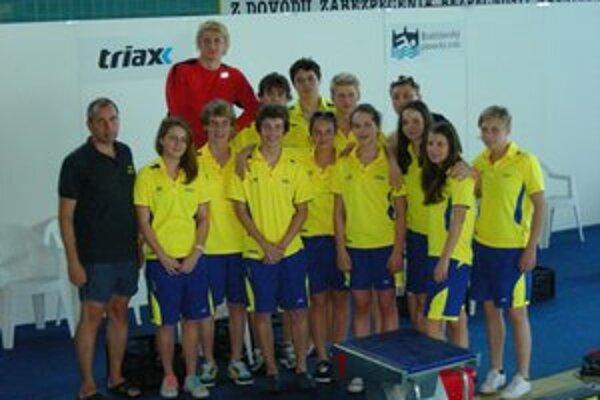 Úspešní boli plavci ŠKP Košice na domácom šampionáte.