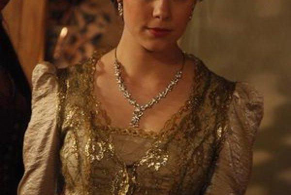 Slovenská Turkyňa. Michaela Földiová je novou princeznou v Sultánovi.
