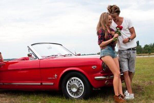 Romantická letná láska Kristiny a Petra Dočkala trvala, kým nepadla posledná klapka.