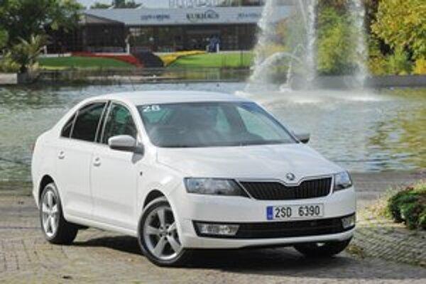 Nová Škoda Rapid. Rapid patrí do segmentu kompaktných automobilov a radí sa medzi Fabiu a Octaviu.