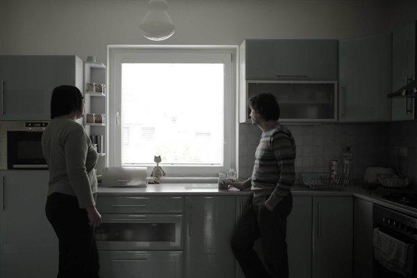 Jaro Vojtek (vpravo) nakrúca film Tak ďaleko, tak blízko.