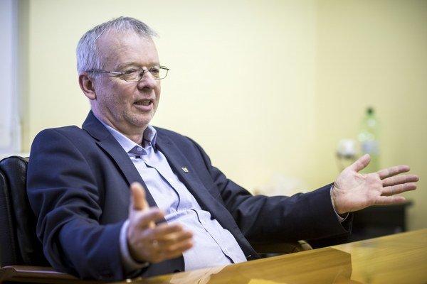 Predsedu Slovenskej komory stavebných inžinierov Vladimír Benko.