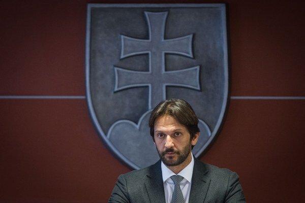 Minister vnútra Robert Kaliňák (Smer-SD).