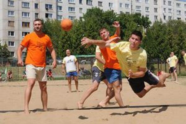 V Prešove sa bude počas víkendu hrať už 17. ročník turnaja v plážovej hádzanej.