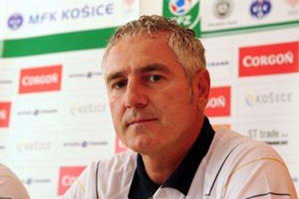 Ladislav Šimčo sa stal novým trénerom Košičanov.