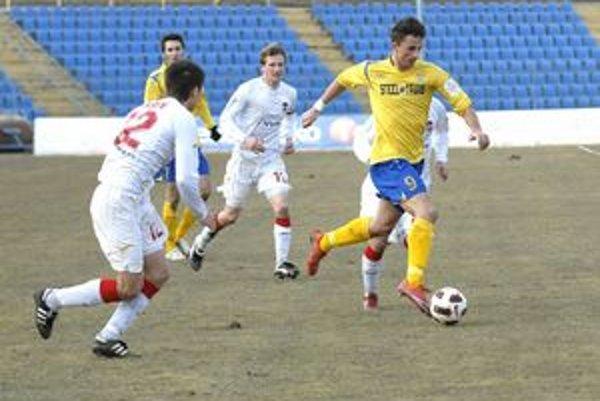 Jaroslav Kolbas. Žlto-modrý dres MFK Košice obliekal v piatich ligových sezónach.