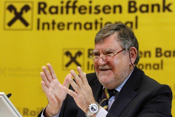 Generálny riaditeľ Raiffeisen Bank International Herbert Stepic.
