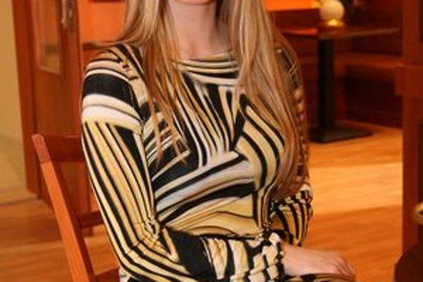 Prirodzene krásna. Veronika Paulovičová nemá rada prvoplánovú vyzývavosť.