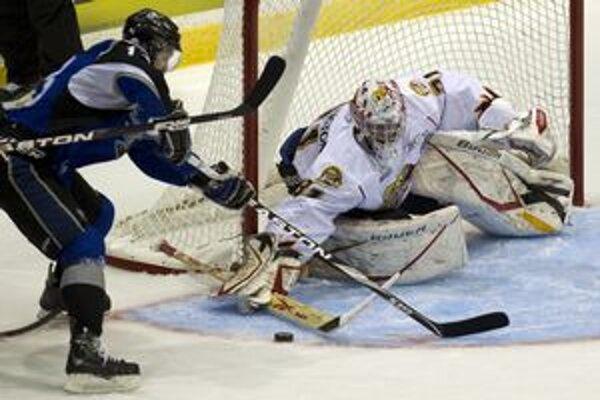 Košický odchovanec. Tomáš Jurčo trénoval v kempe Detroitu s hviezdami NHL.