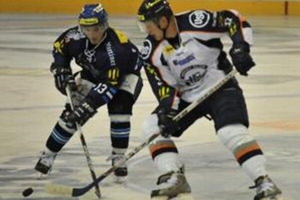 Erik Piatak v zápase v Poprade strelil druhý gól Košíc.