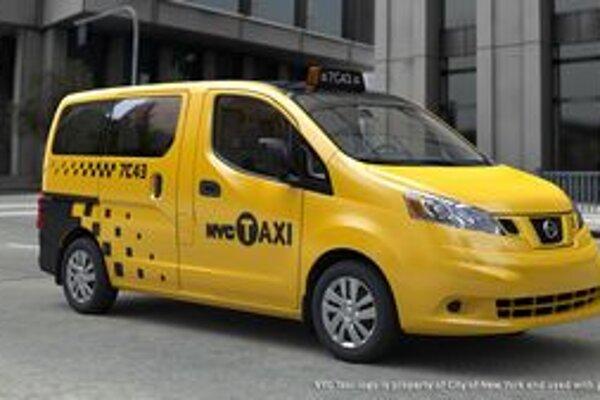 Nový taxík pre New York. Základom taxíka je van NV200, ktorého výrobcom je japonská firma Nissan