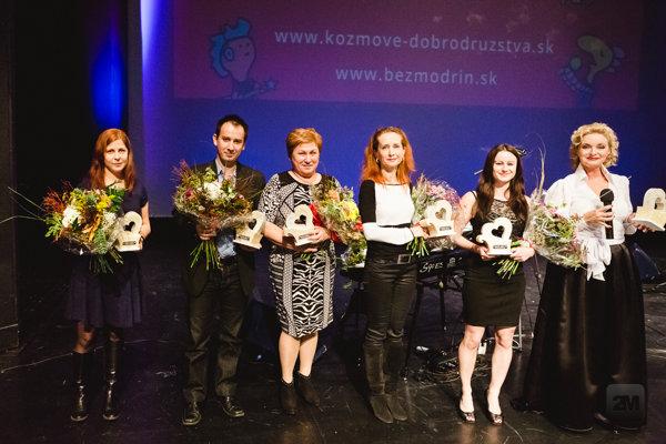 Počas večera odovzdali ocenenia Šľachetné srdce 2015.