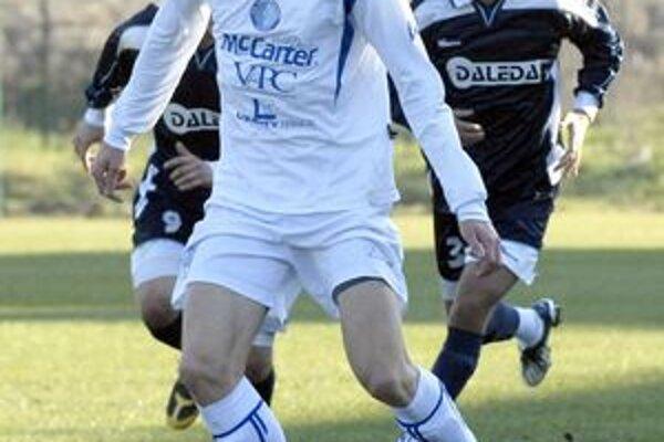 Rastislav Chmelo. V ostatnom kole dal víťazný gól železničiarov.