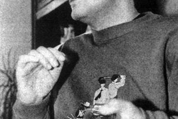 Veľký bojovník. Bývalý ligový futbalista Miroslav Labun patrí už tiež do rodiny päťdesiatnikov.