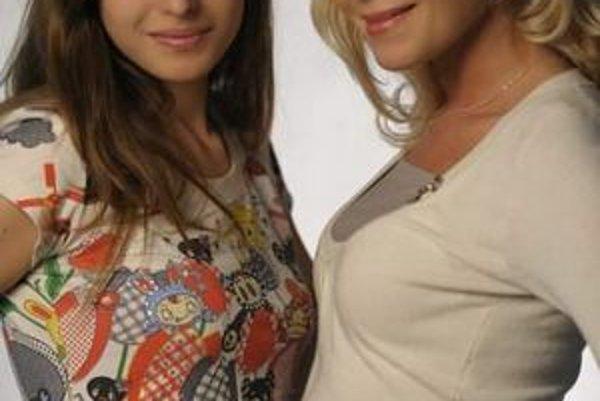 Renáta Tokárová s dcérou Sonjou. Opäť budú predvádzať spolu na Fashion music show.