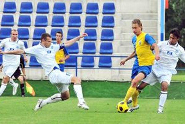 Východoslovenské derby rozhodol Filip Serečin. Kanonier MFK Zemplín strelil Moldave svoj sedemnásty gól v sezóne.