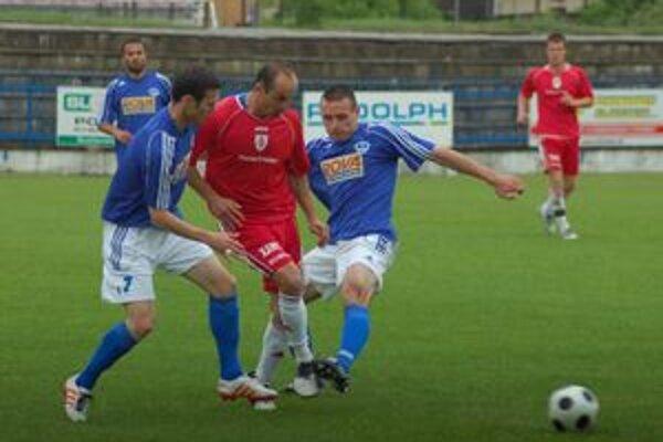 Dobrý výsledok, aj výkon. Po dlhšom čase sa na Spiši hral dobrý druhý ligový futbal.