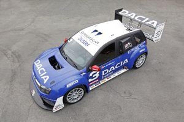 S týmto vozidlo chce firma Dacia pretekať v známych pretekoch do vrchu Pikes peak.