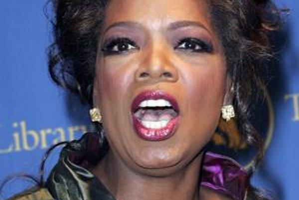 Moderátorke Oprah Winfrey by k ideálnej brade stačilo zhodiť pár kíl.