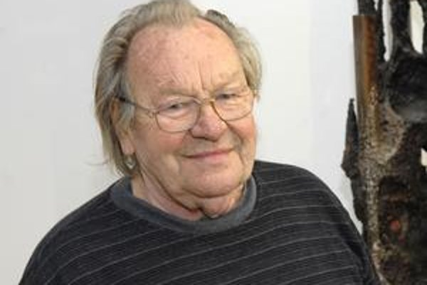 Oslávenec majster Arpád Račko tvorí aj v krásnych osemdesiatich rokoch.