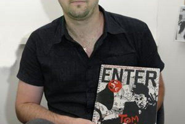 S novým časopisom Enter. Rišo Kitta chce literatúru prezentovať zaujímavým spôsobom.