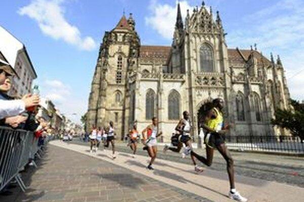 V posledných rokoch dominujú na košickom maratóne najmä africkí bežci.