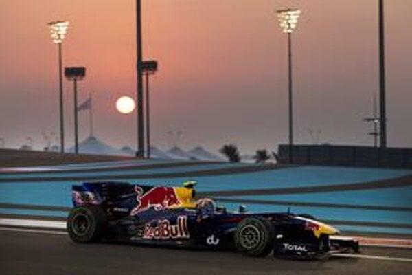 Až tretí. Mark Webber mal titul nadosah, ale nakoniec sa musel uspokojiť s tretím miestom.