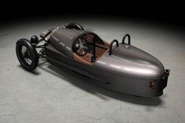 Morgan Threewheeler. Nový trojkolesový Morgan nadväzuje na úspešný model, vyrábaný od roku 1909 do roku 1953.
