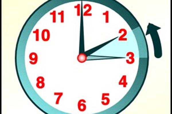 O tretej v noci si ručičky hodiniek posunieme späť na druhú.