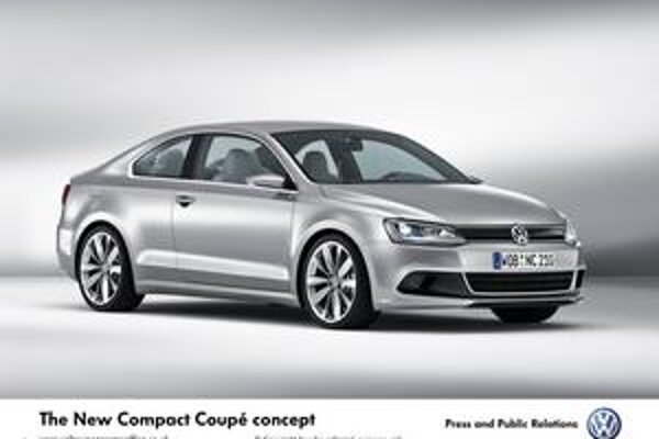 New Compact Coupé VW. Kompaktné kupé Volkswagen malo premiéru na autosalóne v Detroite.