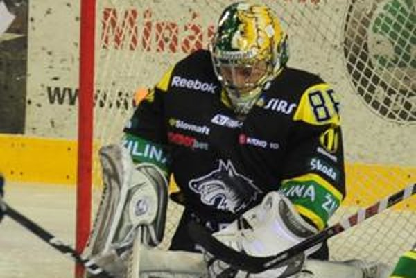 Brankár Lipovský už Žiline vychytal tri víťazstvá proti Košiciam.