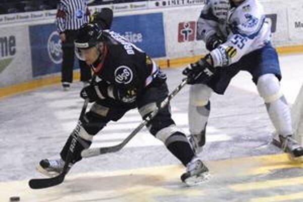 Trojbodový. Košičan Vladimír Dravecký prihrával v sobotu na tri góly.