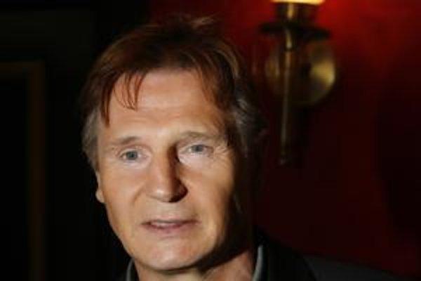 Írsky herec Liam Neeson.