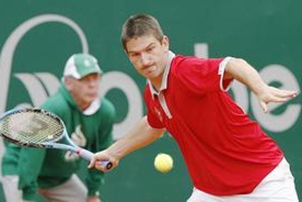 Čech Jan Hájek má momentálne najlepšie postavenie v rebríčku ATP.